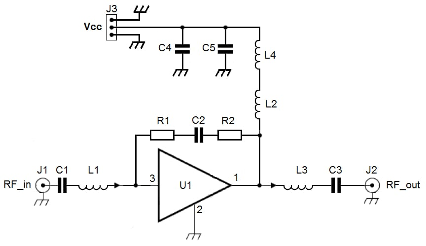 OM7858 : Demoboard for BGA3012, 1 GHz 12 dB gain wideband amplifier application thumbnail