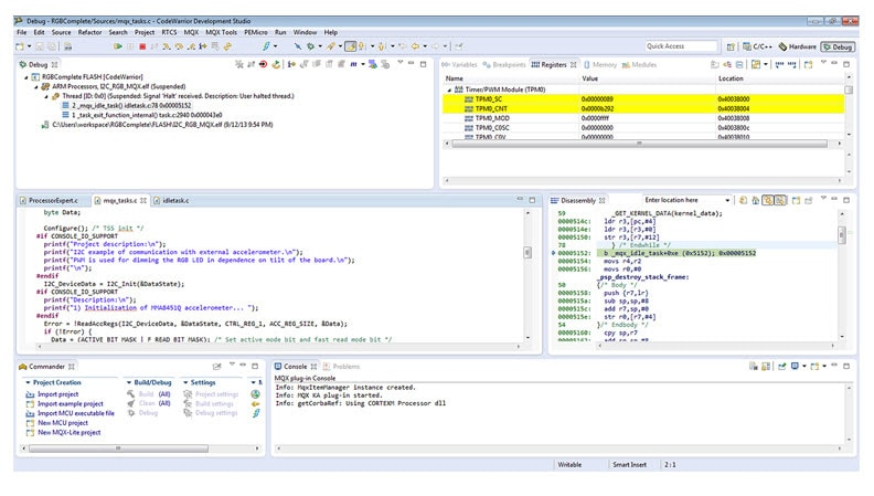 CodeWarrior® for MCUs