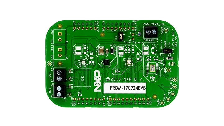 FRDM-17C724EVB : Freedom Kit - MPC17C724, 0.4 A Dual H-Bridge thumbnail