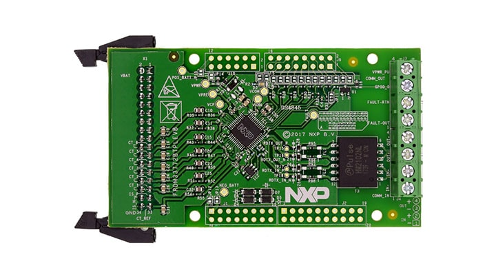 FRDM33772BTPLEVB : Evaluation Board for MC33772 with Isolated Daisy Chain Communication thumbnail