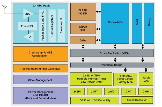 Arm® Cortex®-M0+|Kinetis® KW30Z Bluetooth Low Energy 32-bit MCUs | NXP
