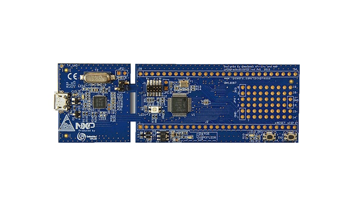 OM13087 : LPCXpresso board for LPC1115 with CMSIS DAP probe thumbnail
