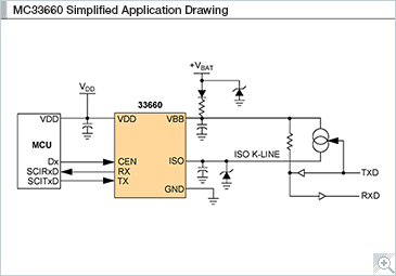 MC33660 Simplified Application Drawing