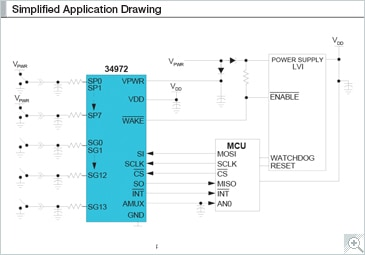 Simplified Application Drawing Block Diagram - G-30106
