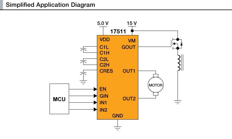 H-Bridge DC Motor Driver 2-6 8 V 3 0 A 200 kHz | NXP