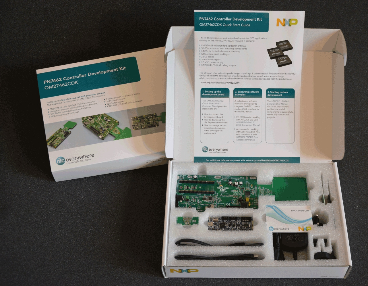 OM27462CDK: NFC development kit