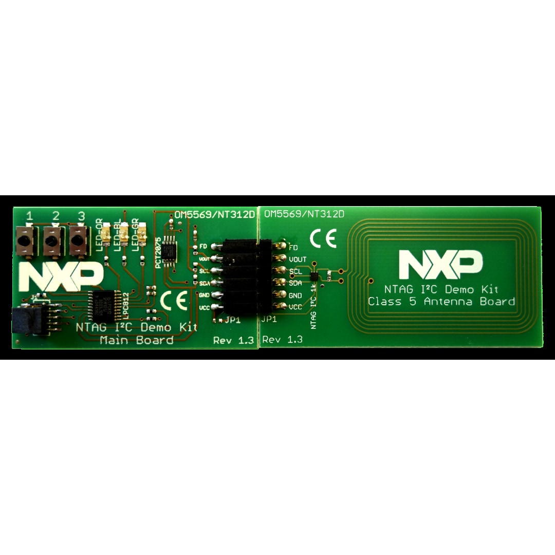 OM5569-NT312D : Demoboard for NTAG<sup&gt;&amp;#174;</sup&gt; I&amp;#178;C thumbnail