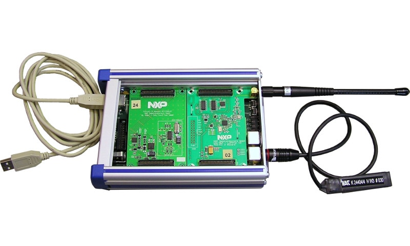 Transponder Evaluation and Development Kit 2, RKE/PKE with RF board