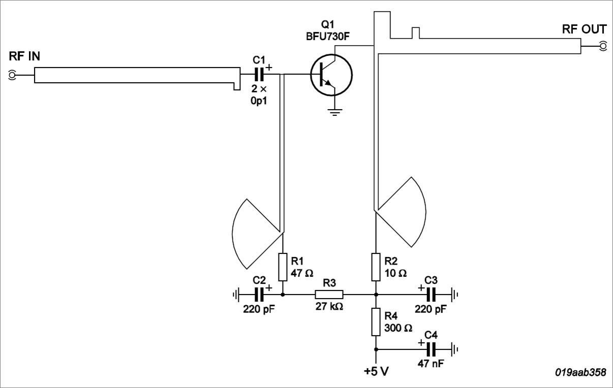 OM7693_Ku_band_LNA_Circuit Quad Lnb Schematics Diagram on computer circuit board, samsung lcd tv, digital multimeter, sony tv, hvac system, am tube radio,
