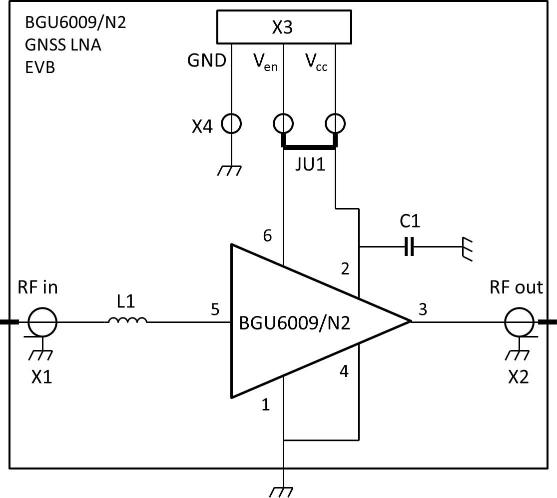 OM7883 : BGU6009/N2 GNSS LNA evaluation board thumbnail