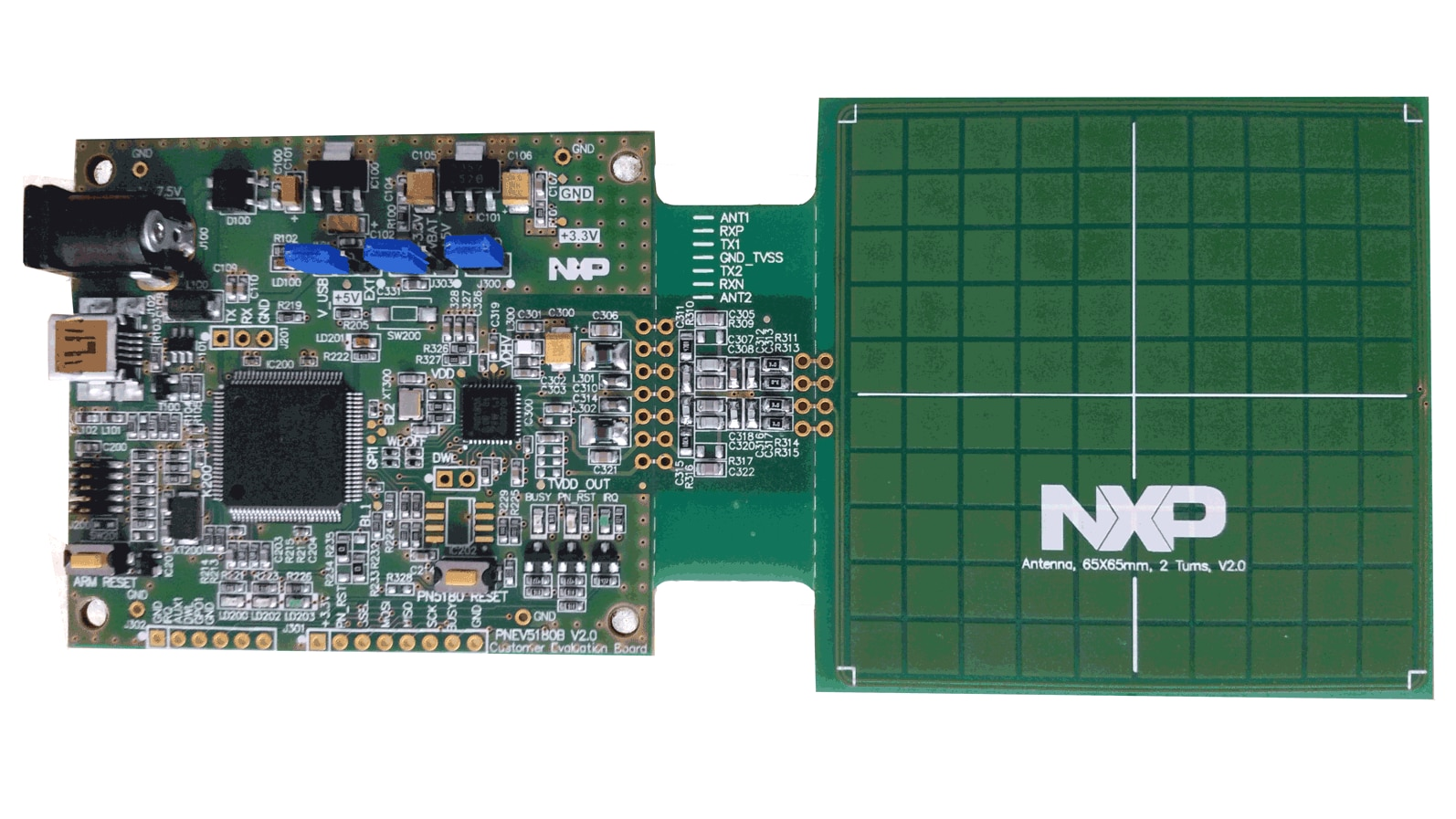 OM25180FDK : PN5180 NFC Frontend Development Kit for POS Terminal Applications  thumbnail