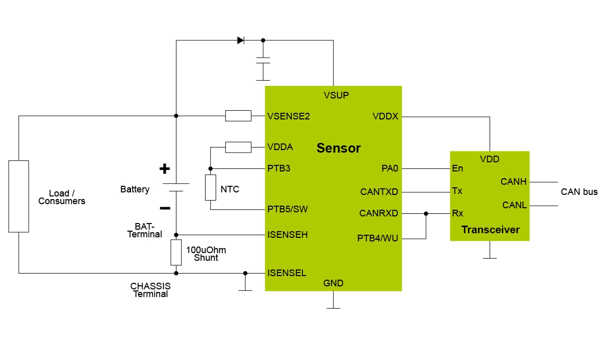 RD9Z1-638-12V CAN Block Diagram