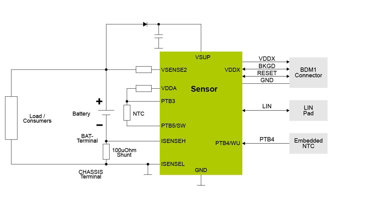 Lead Acid Battery >> 12v Lead Acid Battery Management System With Lin