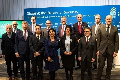 It was a pleasure to join industry leaders at Munich Security Conference to celebrate two years Charter of Trust for cybersecurity