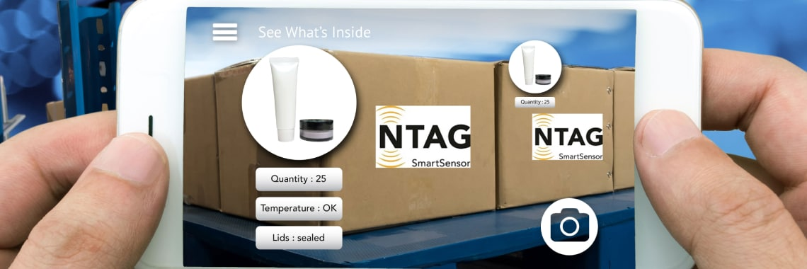 Smart Packaging with NXP NTAG<sup>®</sup>SmartSensor