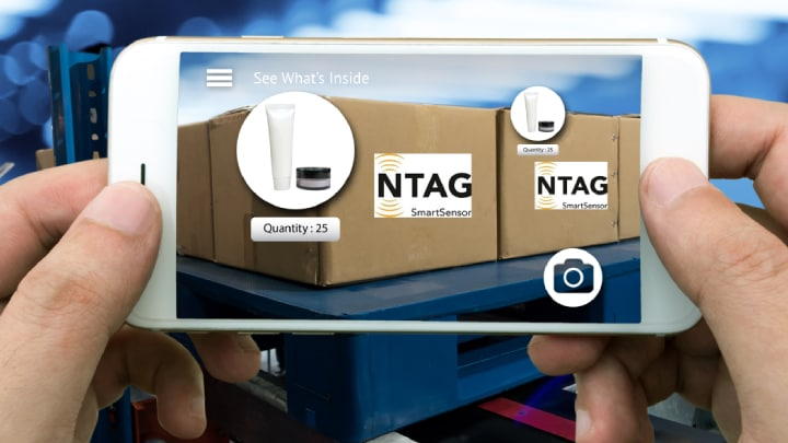 Smart Packaging with NXP NTAG®SmartSensor