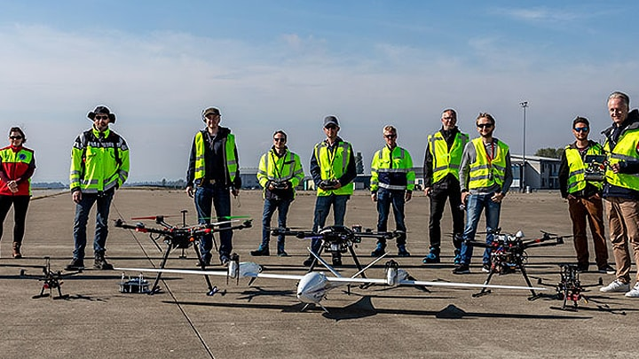 Innovating Safe Drone Traffic