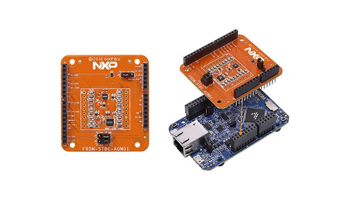FRDM-STBC-AGM01 Shield Board and FRDM-K64F-AGM01 Demo Kit