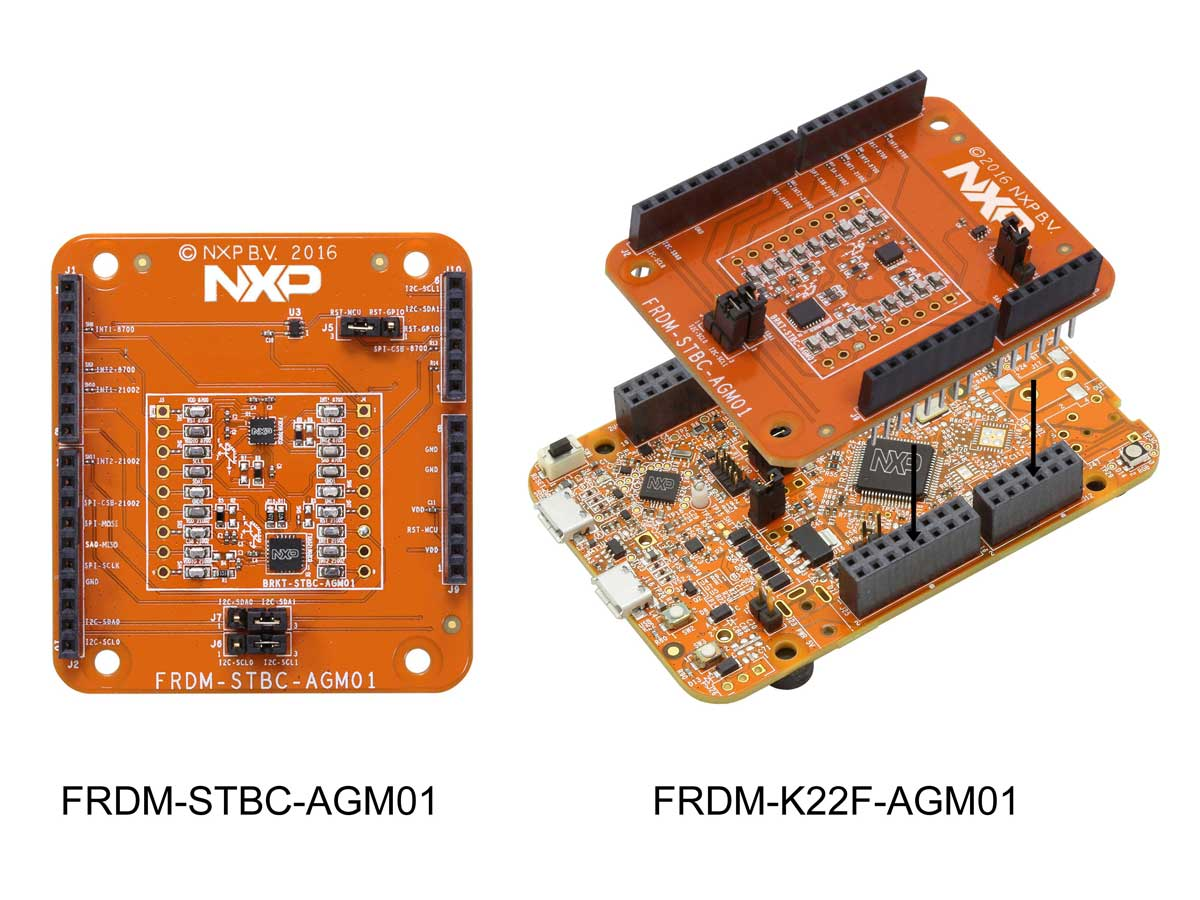 FRDM-STBC-AGM01 Shield Board and FRDM-K22F-AGM01 Demo Kit