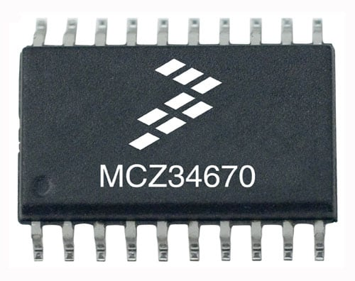 NXP<sup&gt;&amp;#174;</sup&gt; MC34670 Product Image