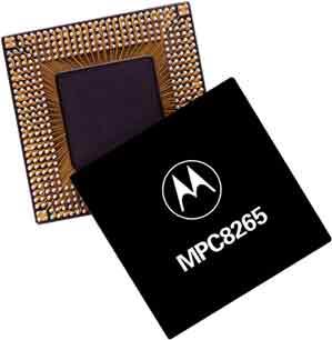 PowerQUICC® II Processor with PCI, 256-ch  HDLC, UTOPIA II
