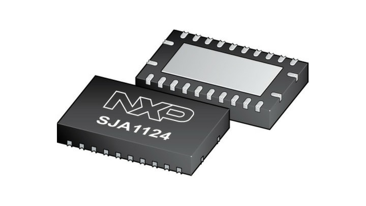 SJA1124 Quad LIN Transceiver is Now Available
