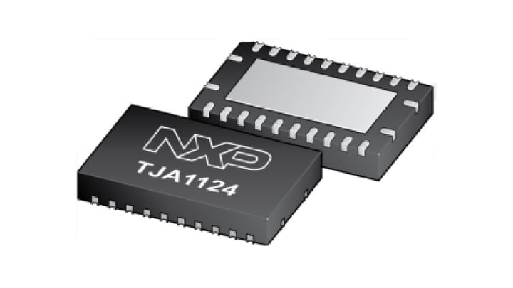 TJA1124 Quad LIN Transceiver is Now Available