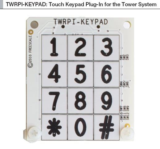 NXP<sup&gt;&amp;#174;</sup&gt; TWRPI-KEYPAD Tower<sup&gt;&amp;#174;</sup&gt; System Plug In Modules