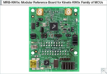 Modular Reference Boards for Kinetis<sup&gt;&amp;#174;</sup&gt; KW0x MCUs Block Diagram