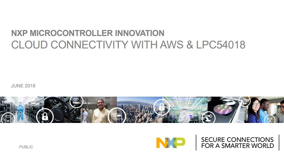 Part I: An Introduction to AWS IoT and Amazon FreeRTOS | NXP