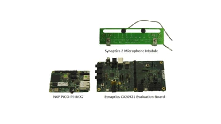 AMAZON-ARROW-KIT : Development Kit for Amazon AVS with Synaptics 2Mic and NXP PICO-PI-IMX 7D thumbnail