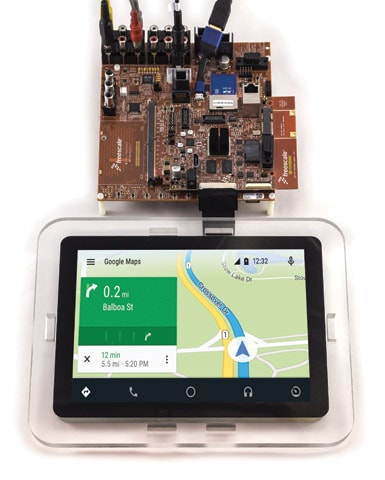 Development System for Android Auto using i.MX 6 SABRE
