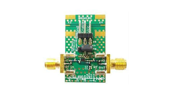 OM17055 : Demoboard for BGU6101 low noise amplifier, ISM and LTE band thumbnail
