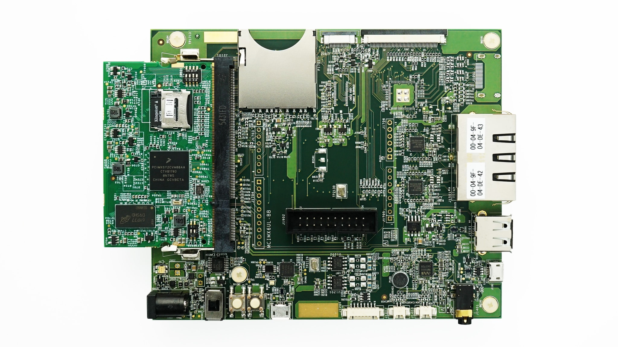 Evaluation kit for the i.MX 6ULL and 6ULZ Applications Processor Image