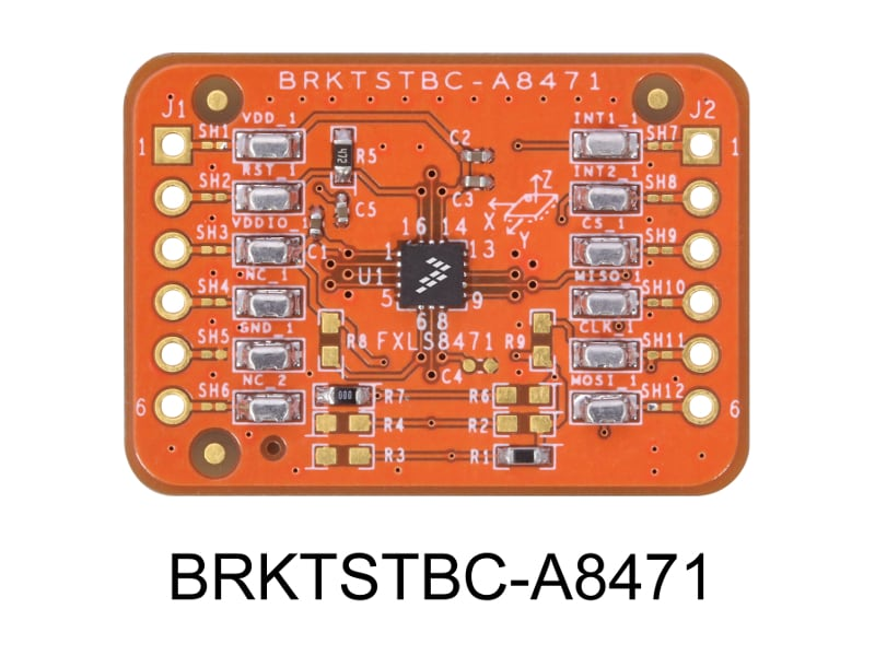 BRKTSTBC-A8471 Breakout Board for the FXLS8471Q