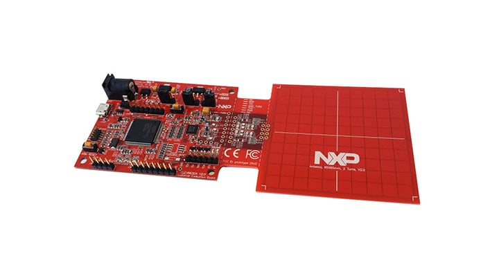 MFRC630 and SLRC610 NFC Frontend Development Board