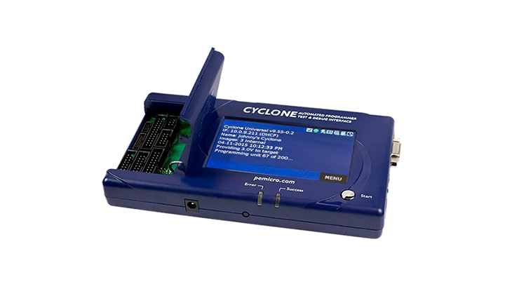 Cyclone LC: In-circuit, stand-alone production programmers