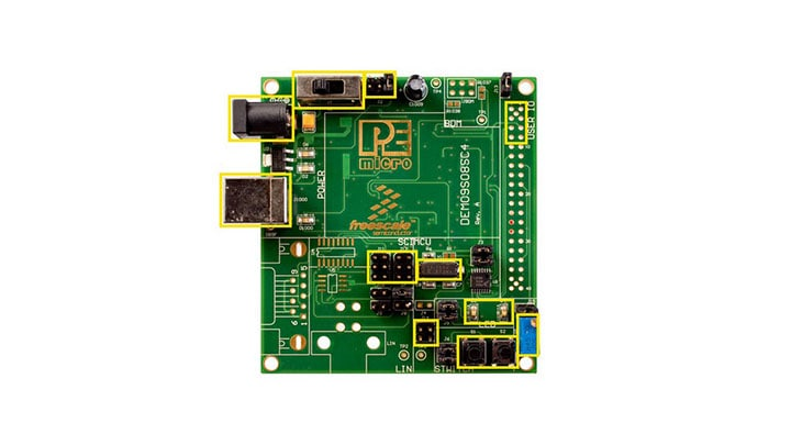 DEMO9S08SC4 Board Image