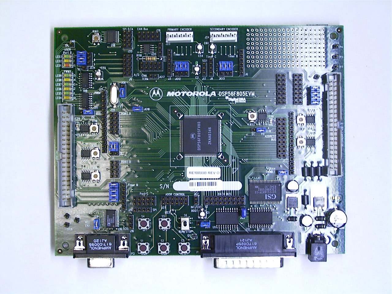 Archived Evaluation Kit For 56f805 Processor Nxp Watt Audio Power Amplifier Circuit Using Tda2613 Dsp56f805evmimg