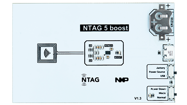 NTAG 5 boost demo board