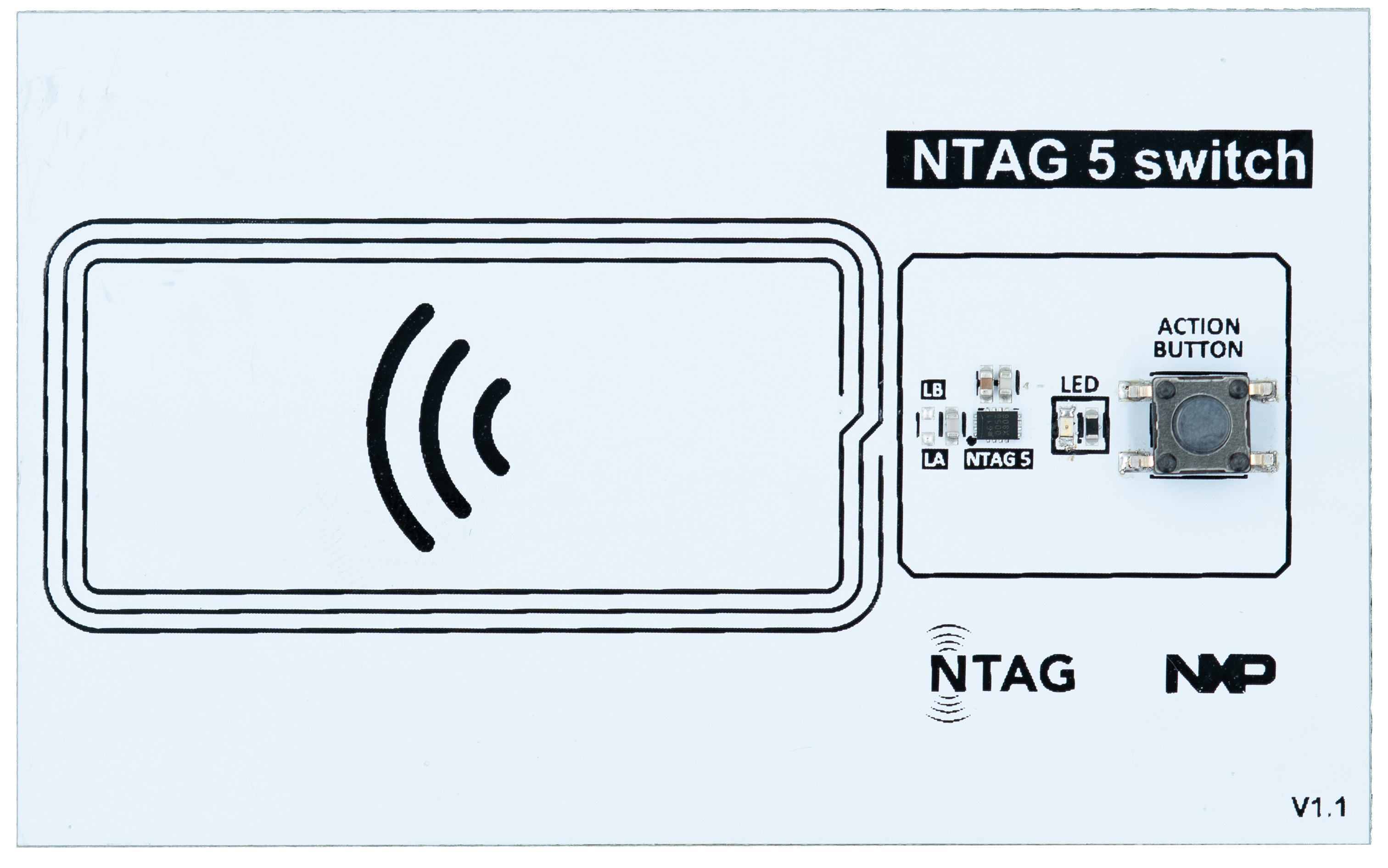 NTAG 5 switch demo board