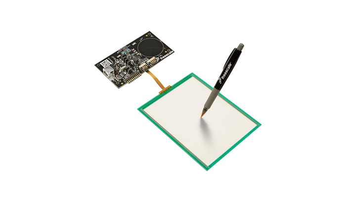 Touch Sensing Platform Evaluation Board