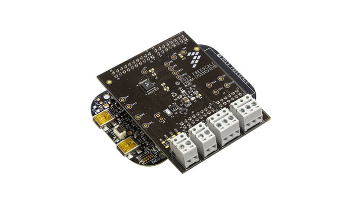FRDM-17533EV-EVB : Freedom Expansion Board - MPC17533, Dual H-Bridge,  Stepper Motor Driver, 2.0V-6.8V, 0.7A, Ext. VG thumbnail