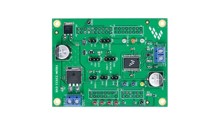 Freedom Expansion board for MC33931- Brushed DC Motor Driver, H-Bridge, 11 kHz
