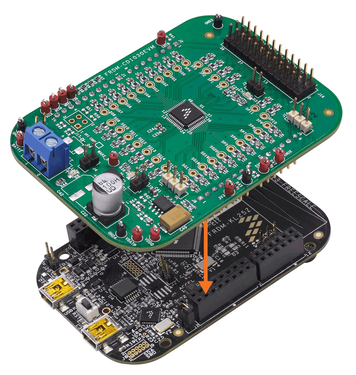 FRDM-CD1030EVM Stack Boards