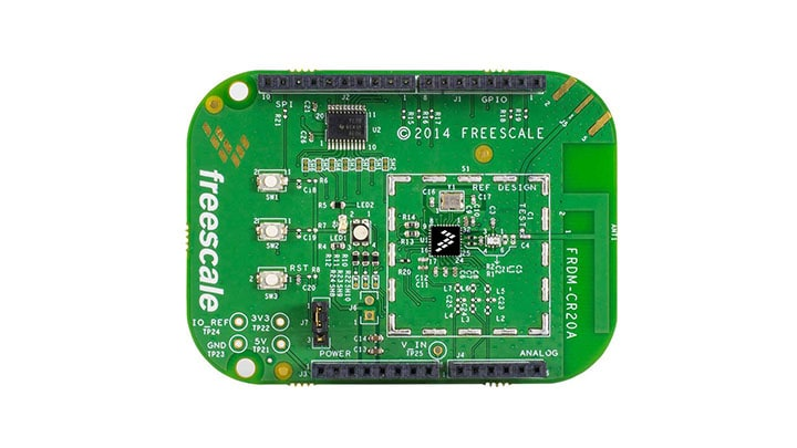 FRDM-CR20A : Freedom Development Board for MCR20A Wireless Transceiver thumbnail