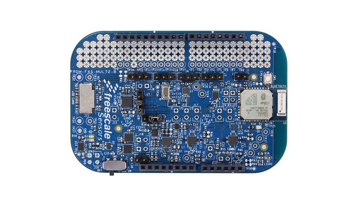 FRDM-FXS-MULT2-B : Freedom Development Platform for NXP<sup>&#174;</sup> Sensors with Bluetooth&#174;.  thumbnail