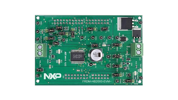 FRDM-HB2000-EVM : Freedom Board for MC33HB2000EK,10 A, H-Bridge Motor Driver, HSOP 32 thumbnail