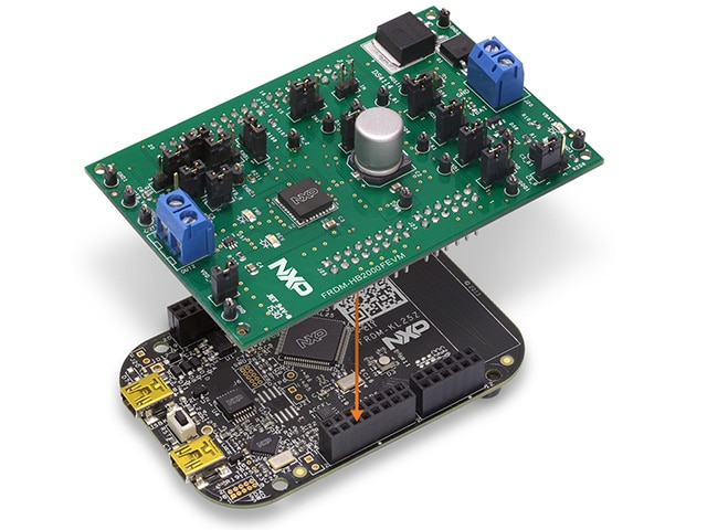 Freedom Platform for MC33HB2000 Brushed DC Motor Control with the KL25Z Development Board
