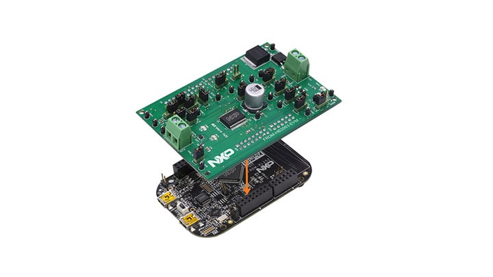 Freedom Platform for MC33HB2001 Brushed DC Motor Control
